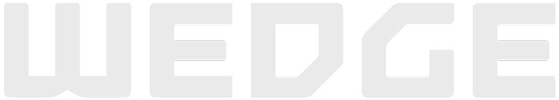 WEDGE logo